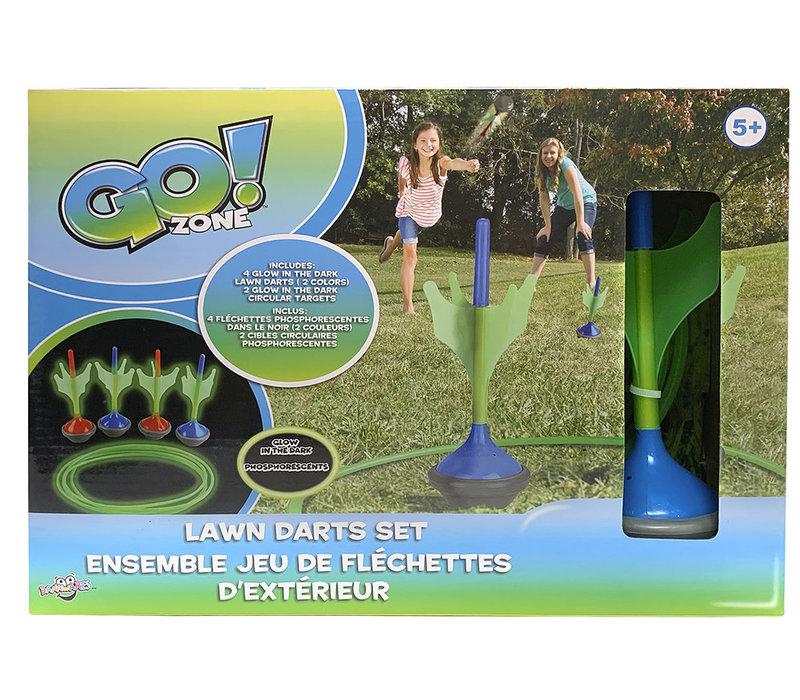 Go! Zone- Jeu de fléchettes phosphorescentes