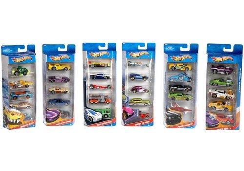 Hot Wheels _Hot Wheels - Ensemble cadeau 5 voitures