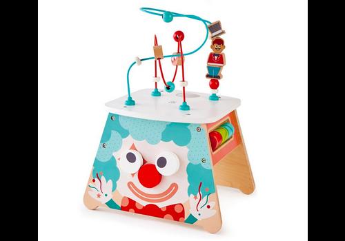 Hape Light-up Circus Activity Cube - Cube d'éveil lumineux cirque