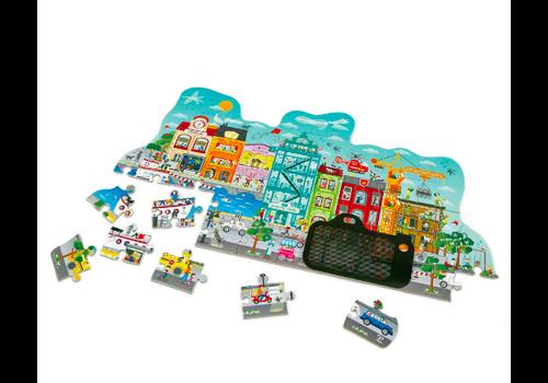 Hape Animated City Puzzle - Casse-tête ville animée