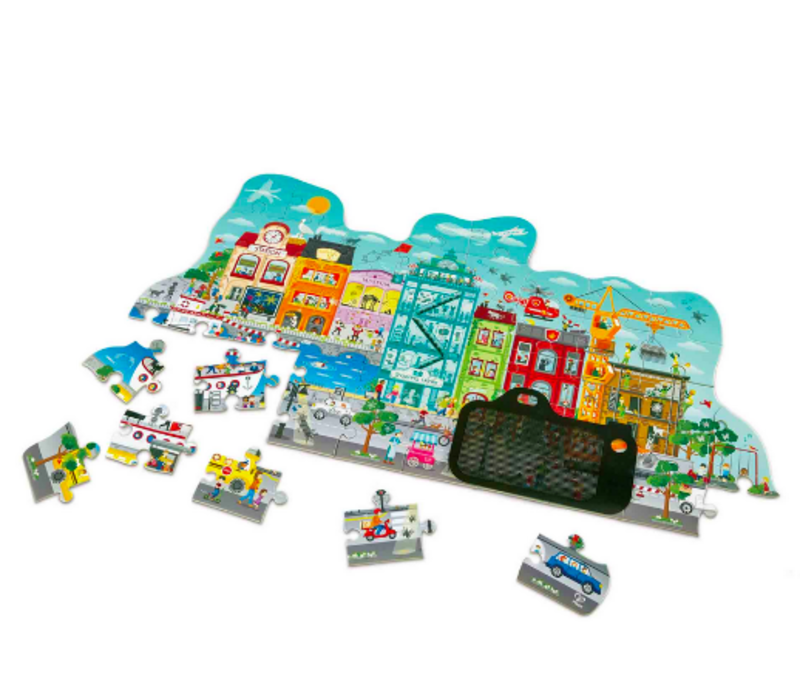 Animated City Puzzle
