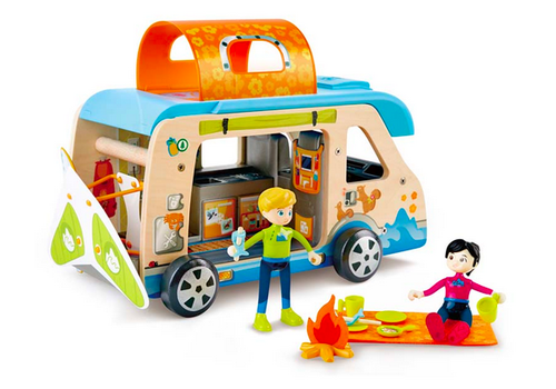 Hape Ensemble de figurines et campeur aventure