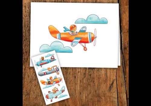 pico Carte de souhait - balade en avion