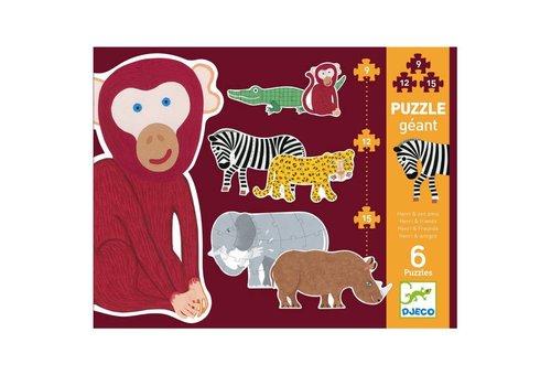 Djeco Puzzle géant / Henri et ses amis
