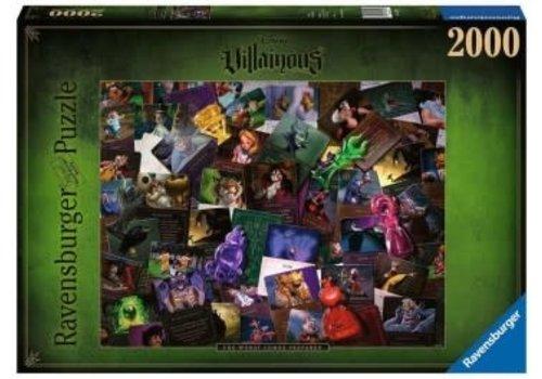 Ravensburger Casse-tête Tous les méchants Disney 2000 morceaux
