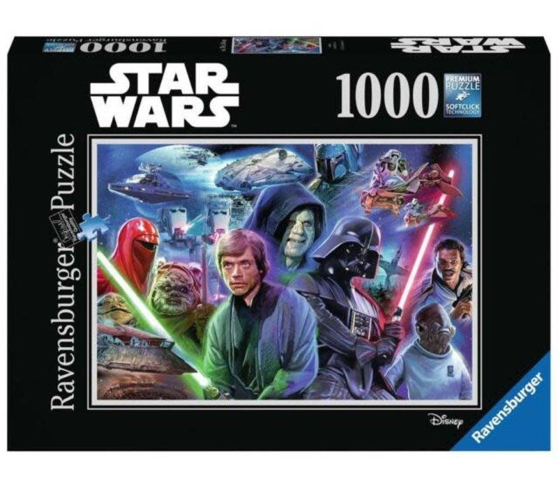Casse-tête Star Wars Collection 3 1000 morceaux