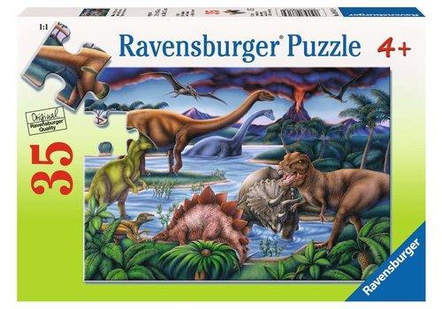 Ravensburger Casse-tête Jardin de dinosaures 35 morceaux