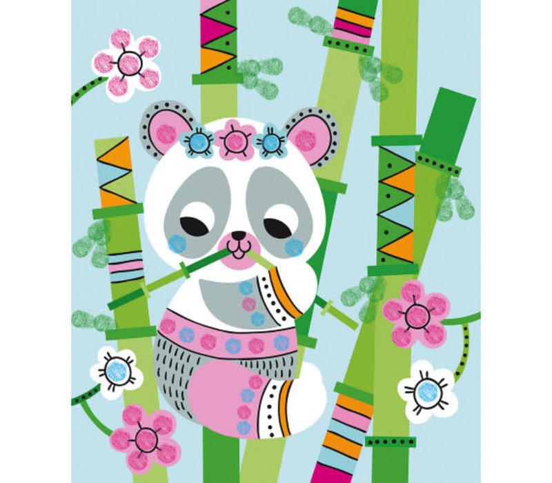 Encrier à Doigts Panda et ses Amis