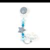 Bulle Bijouterie Attache-suce nano - Gris, bleu océan et bleu