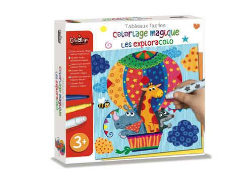 crealign Coloriage magique Facile - Les Exploracolo