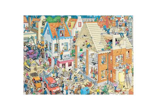 Jumbo Casse-tête Le chantier, JvH 1500 morceaux