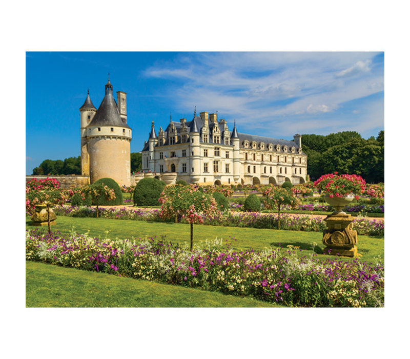 1000pc, Castle in the Loire,  France