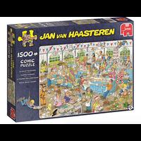 Casse-tête 1500 morceaux, 1500pc, tournoi des confiseurs,  Jan Van Haasteren