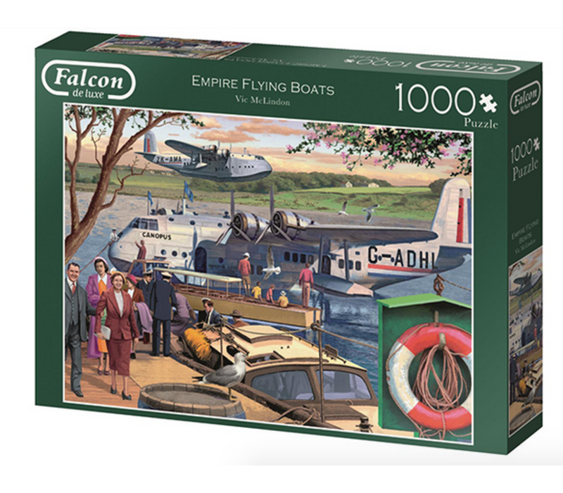 Casse-tête 1000 morceaux, Empire Flying Boats