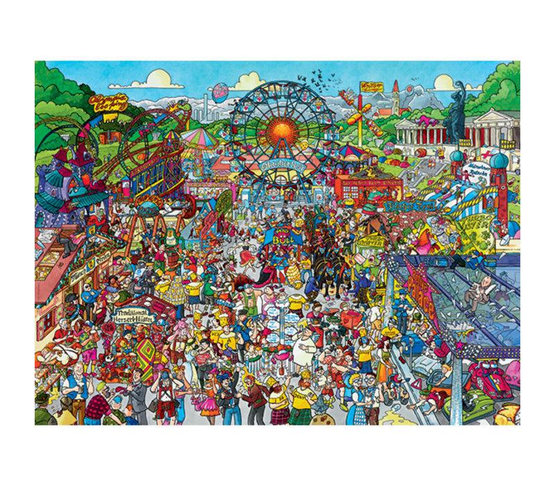 Casse-tête 1500 morceaux, Oktoberfest, Schone