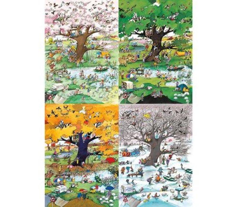 Casse-tête 2000 morceaux, 4 Seasons, Blachon