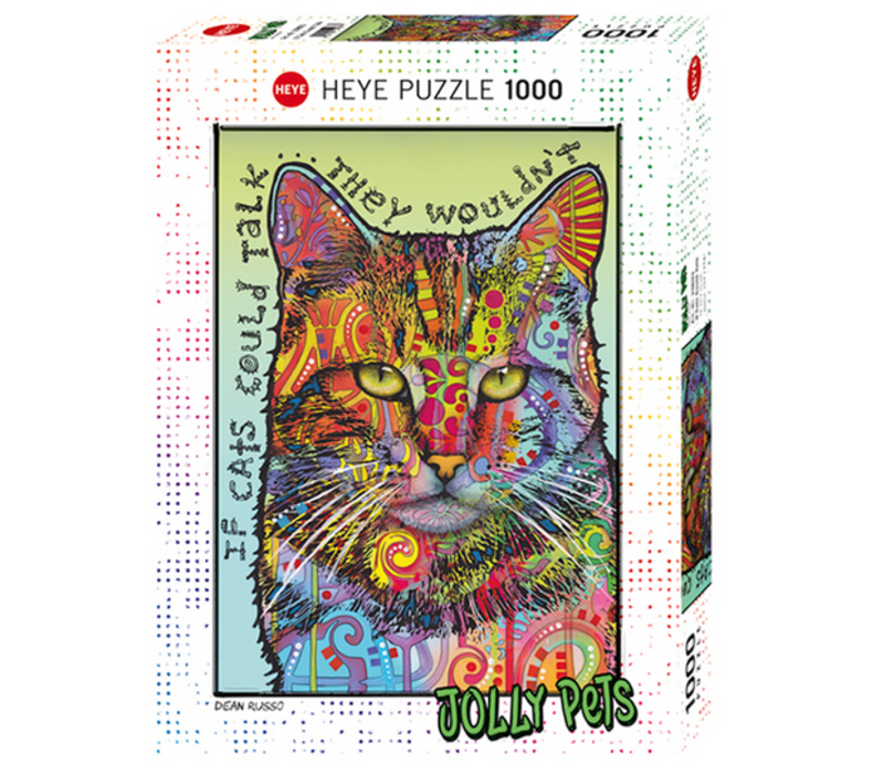 Casse-tête 1000 morceaux, If Cats Could Talk