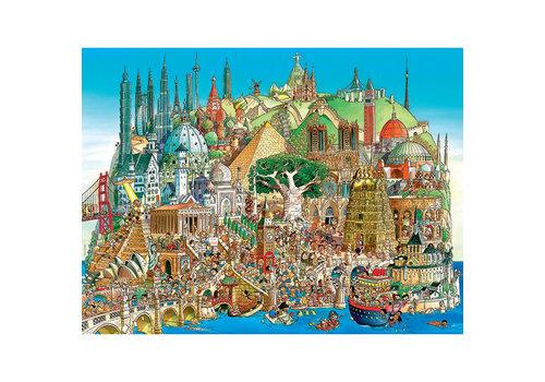 Casse-tête 1500 morceaux, Global City, Prades