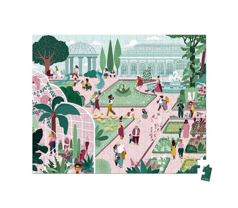 Casse-tête 200 morceaux- Jardin Botanique