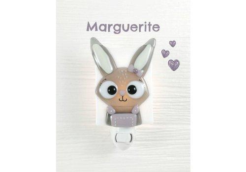Veille sur toi Veilleuse Lapine Marguerite