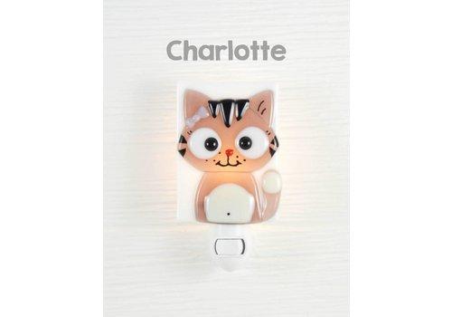Veille sur toi Veilleuse Chatte - Charlotte