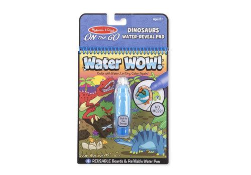 Melissa & Doug Water Wow Dinosaurs - Dessins révélation à l'eau, dinosaures