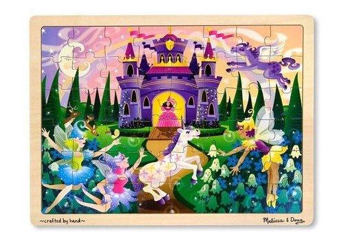 Melissa & Doug Fairy Fantasy - Casse-tête en bois, fantasie de fées, 48 morceaux