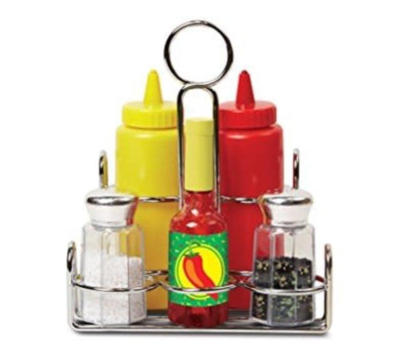 Condiment Set - Ensemble de condiments