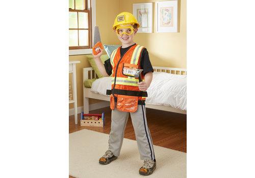 Melissa & Doug Construction Worker - Déguisement de travailleur de la construction