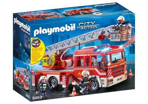 Playmobil Camion de pompiers avec echelle pivotante