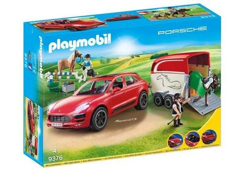 Playmobil Porsche Macan GTS avec remorque