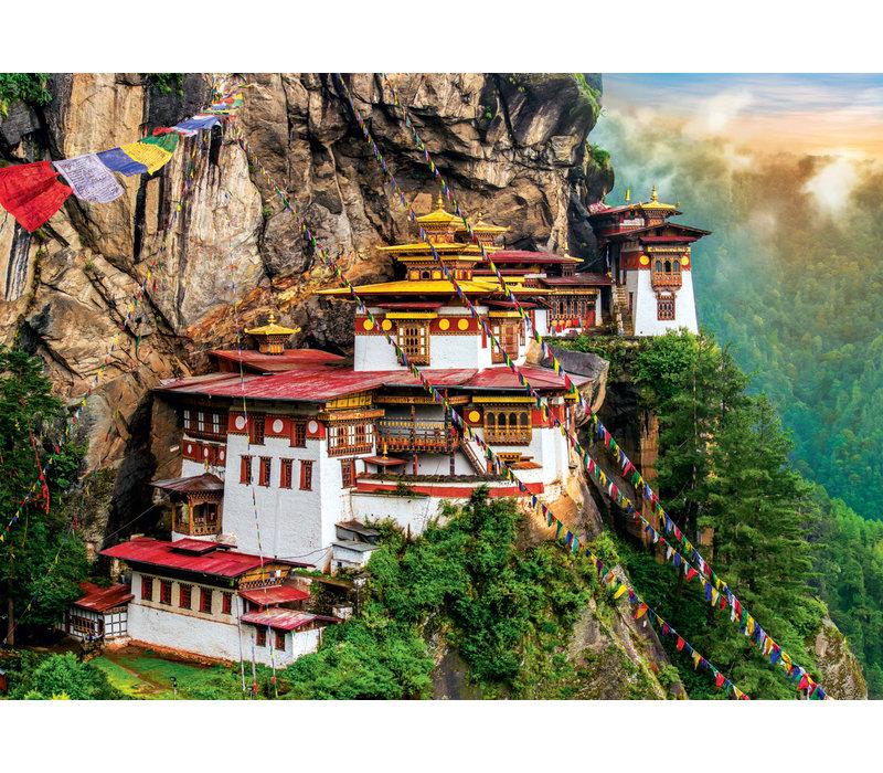 Casse-tête - Monastère du Bhoutan - 2000 morceaux