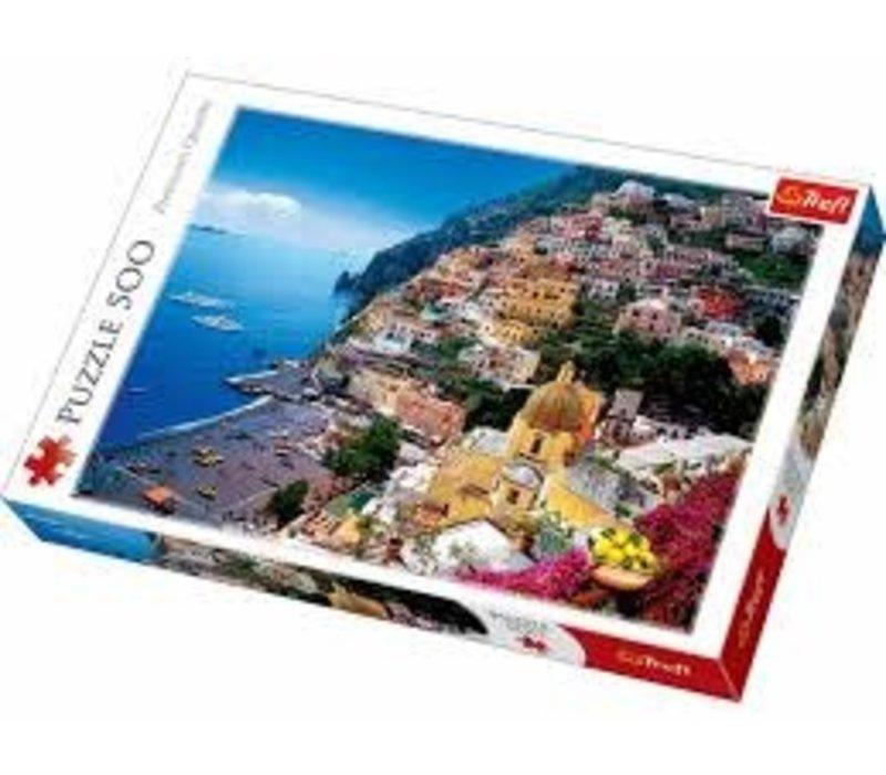Casse-tête - 500 morceaux - Positano, Italie