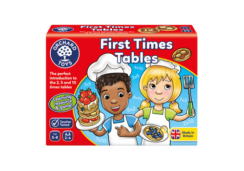 Orchard Toys First Times Tables (multilingue)