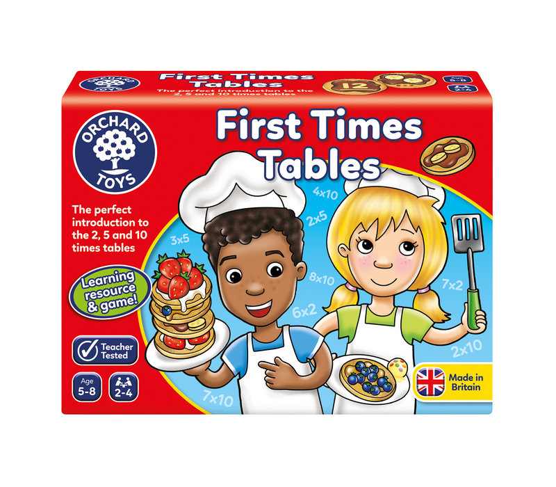 First Times Tables (multilingue)
