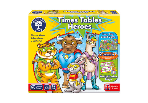Orchard Toys Times Tables Heroes (multilingue)