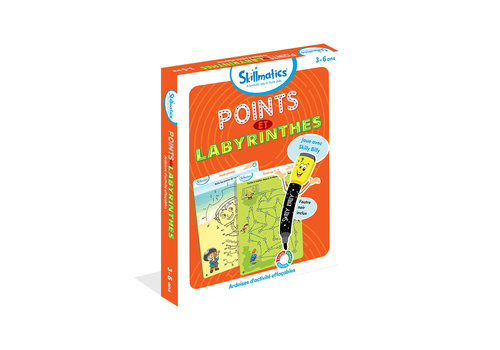 Skillmatics Jeu Points et Labyrinthes