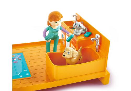 Hape Furry Friend Vet Set - Ensemble de figurines et de vétérinaire