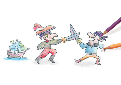 crealign Tampon Mouss' Les pirates