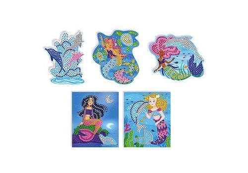 Hachette Mosaique Dauphins et  Sirènes
