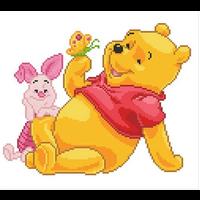 Diamond Dotz - Pooh with Piglet Diamond Kit