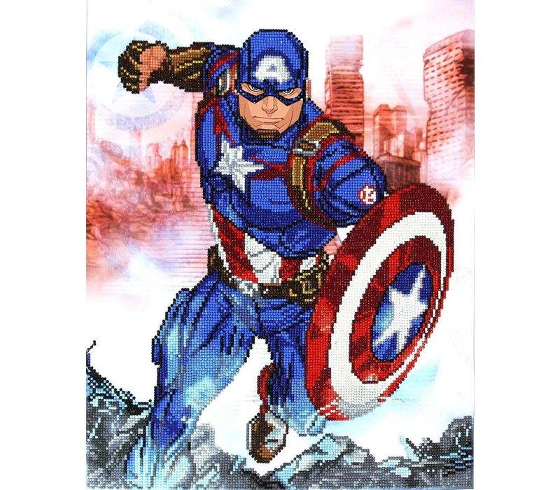 Diamo de Dotz - Captain America in action