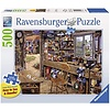 Ravensburger Casse-tête L'atelier de papa - 500 morceaux large format