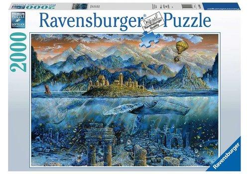 Ravensburger Casse-tête Sage baleine -2000 morceaux