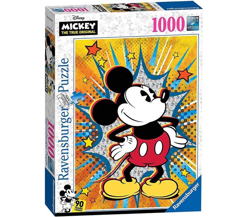 Casse-tête Retro Mickey 1000 morceaux