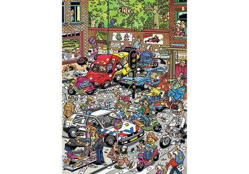 Jumbo Casse-tête 500 morceaux - Traffic Chaos, JvH