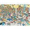Jumbo Casse-tête 1000 morceaux - Faites la queue - JvH