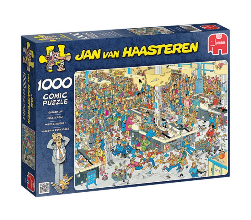 Casse-tête 1000 morceaux - Faites la queue - JvH