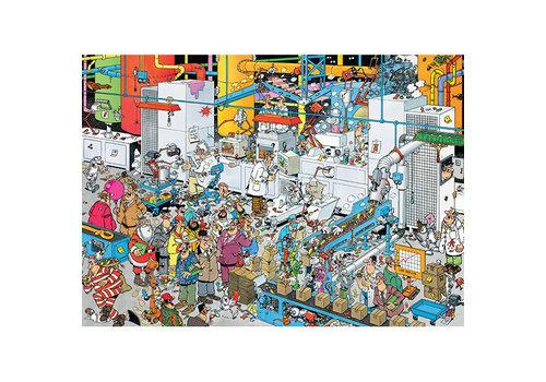 Jumbo Casse-tête 500 morceaux - Fabrique de bonbons