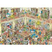 Casse-tête 1000 morceaux, la bibliothèque, JvH